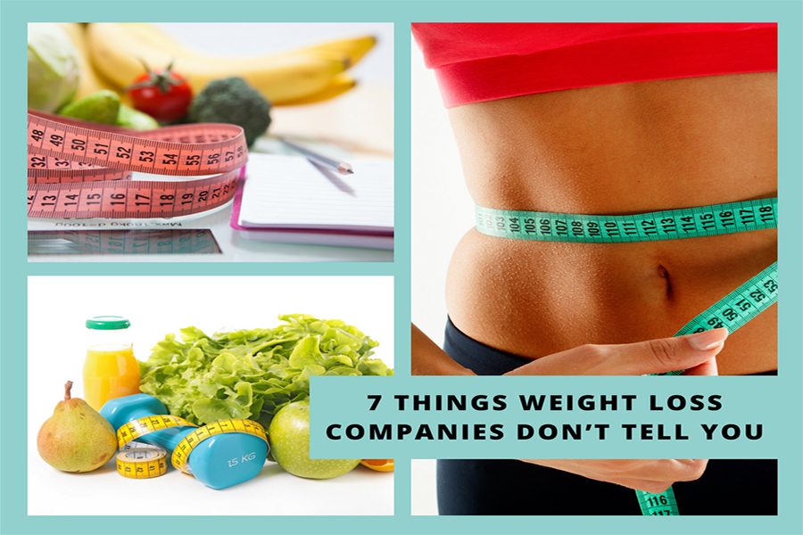 7 Things Weight Loss Companies Don't Tell You