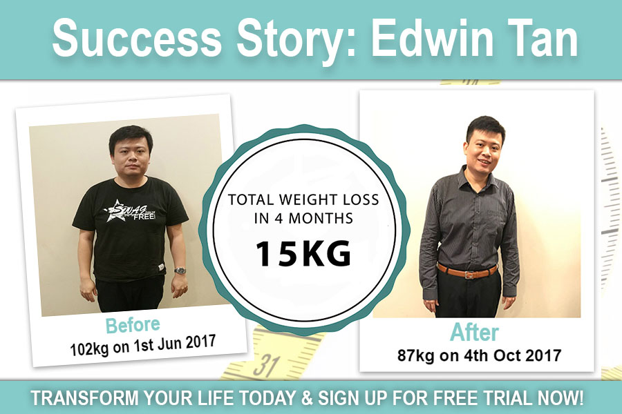 edwin tan weight loss results before after pictures singapore