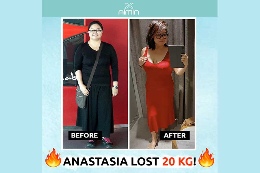 Client Anastasia's Inspirational Weight Loss Journey Testimony
